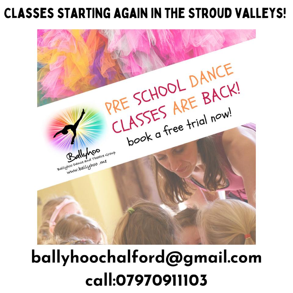 Pre school dance classes are back!