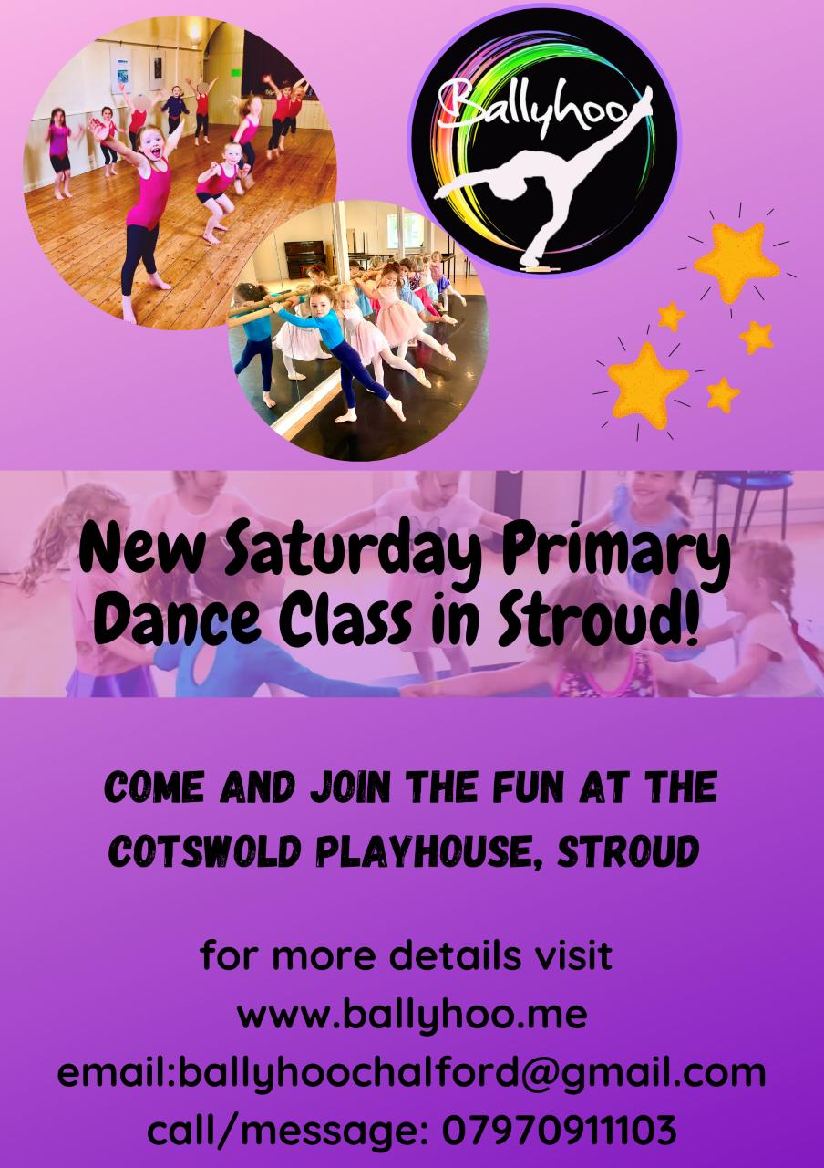 New Saturday Primary Dance Class in Stroud